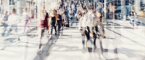 Crowd of people walking on a street in New York City- Stock Photo or Stock Video of rcfotostock   RC-Photo-Stock