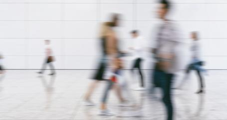 Crowd of people walking on a street in New York City- Stock Photo or Stock Video of rcfotostock | RC-Photo-Stock
