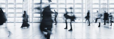 crowds of business people in motion blur- Stock Photo or Stock Video of rcfotostock | RC-Photo-Stock