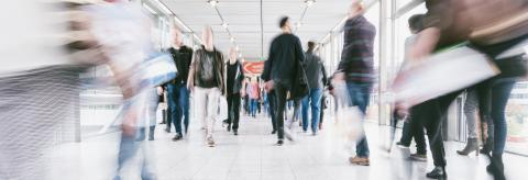 crowds of people walking in a shopping mall- Stock Photo or Stock Video of rcfotostock   RC-Photo-Stock