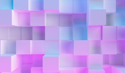 cube background in colorful bright neon uv blue and purple lights : Stock Photo or Stock Video Download rcfotostock photos, images and assets rcfotostock | RC-Photo-Stock.: