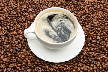 cup of coffee on beans- Stock Photo or Stock Video of rcfotostock   RC-Photo-Stock