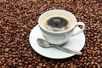 cup of coffee with floating drop- Stock Photo or Stock Video of rcfotostock | RC-Photo-Stock