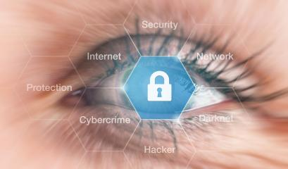Cyber security concept - human eye- Stock Photo or Stock Video of rcfotostock | RC-Photo-Stock