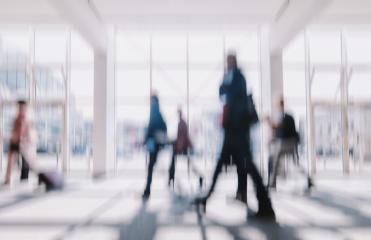 defocused business people walking in a floor, business travel concept- Stock Photo or Stock Video of rcfotostock | RC-Photo-Stock