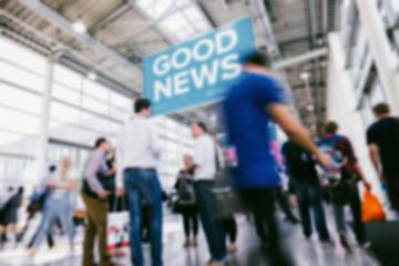 defocused business people walking in trade show hall : Stock Photo or Stock Video Download rcfotostock photos, images and assets rcfotostock | RC-Photo-Stock.: