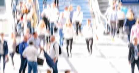 defocused Crowd of anonymous people walking- Stock Photo or Stock Video of rcfotostock | RC-Photo-Stock