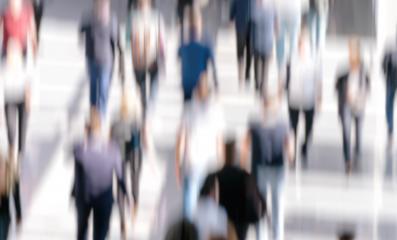 Defocused Crowd of people walking street - Stock Photo or Stock Video of rcfotostock | RC-Photo-Stock