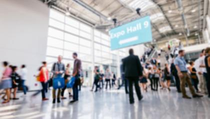 defocused people rushing at a trade show hall : Stock Photo or Stock Video Download rcfotostock photos, images and assets rcfotostock | RC-Photo-Stock.: