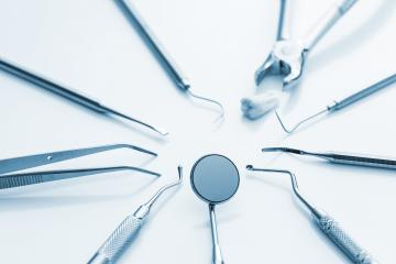 dentist basic cutlery equipment dentistry instruments or accessories- Stock Photo or Stock Video of rcfotostock   RC-Photo-Stock