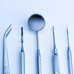 Dentist basic cutlery instruments tools, mirror, tweezers, sonde, tamper caries : Stock Photo or Stock Video Download rcfotostock photos, images and assets rcfotostock | RC-Photo-Stock.: