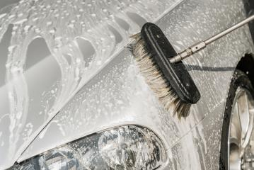 detail of a car wash with brush and soap- Stock Photo or Stock Video of rcfotostock | RC-Photo-Stock