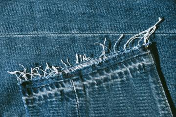 Detail of Blue Jeans denim texture- Stock Photo or Stock Video of rcfotostock | RC-Photo-Stock
