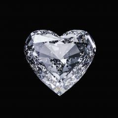 Diamond heart isolated on black- Stock Photo or Stock Video of rcfotostock | RC-Photo-Stock