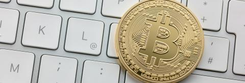 Digital Currency Bitcoin on a Computer Keyboard : Stock Photo or Stock Video Download rcfotostock photos, images and assets rcfotostock | RC-Photo-Stock.:
