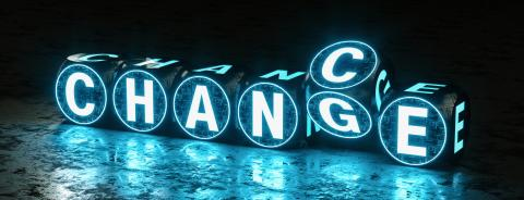 digital text dice on ground form the words chance and change- Stock Photo or Stock Video of rcfotostock | RC-Photo-Stock