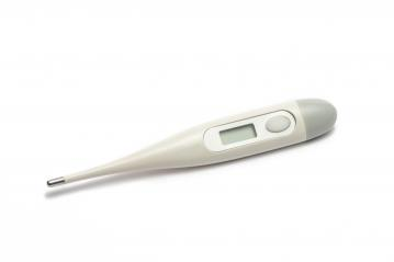 digital thermometer, isolated on white background- Stock Photo or Stock Video of rcfotostock | RC-Photo-Stock