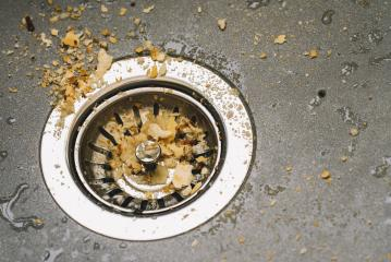 Dirty drain in the kitchen- Stock Photo or Stock Video of rcfotostock | RC-Photo-Stock