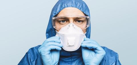 Doctor wearing protection Suit for Fighting Covid-19 (Corona virus) SARS infection Protective Equipment (PPE) with N95 or ffp3 mask. : Stock Photo or Stock Video Download rcfotostock photos, images and assets rcfotostock | RC-Photo-Stock.: