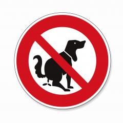 Dog and excrement, no dog pooping. Shitting is not allowed. No poo poo, prohibition sign, on white background. Vector illustration. Eps 10 vector file.- Stock Photo or Stock Video of rcfotostock | RC-Photo-Stock