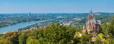 Drachenburg Castle Panorama at Bonn- Stock Photo or Stock Video of rcfotostock | RC-Photo-Stock