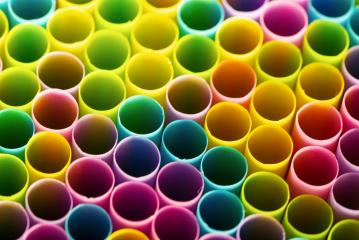 Drinking straws in different colors- Stock Photo or Stock Video of rcfotostock   RC-Photo-Stock