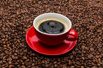 drop falls in a coffee cup- Stock Photo or Stock Video of rcfotostock | RC-Photo-Stock