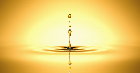 Drop of golden oil - concept of wellness and beauty products- Stock Photo or Stock Video of rcfotostock | RC-Photo-Stock
