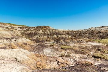 Drumheller valley in Canada at summer- Stock Photo or Stock Video of rcfotostock | RC-Photo-Stock