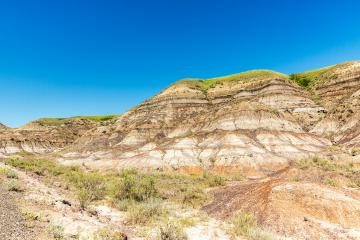 Drumheller valley in summer at alberta Canada : Stock Photo or Stock Video Download rcfotostock photos, images and assets rcfotostock | RC-Photo-Stock.: