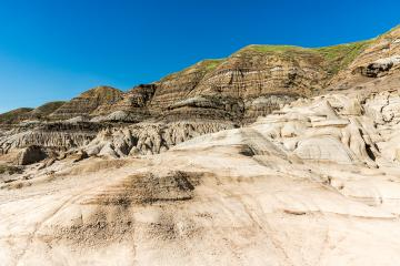 Drumheller Valley mountains at the hoodoo trail in canada : Stock Photo or Stock Video Download rcfotostock photos, images and assets rcfotostock | RC-Photo-Stock.: