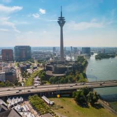 Dusseldorf at summer- Stock Photo or Stock Video of rcfotostock | RC-Photo-Stock