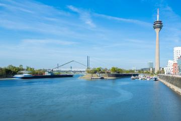 Dusseldorf city with media harbor : Stock Photo or Stock Video Download rcfotostock photos, images and assets rcfotostock | RC-Photo-Stock.: