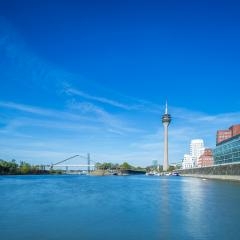 Dusseldorf cityscape : Stock Photo or Stock Video Download rcfotostock photos, images and assets rcfotostock | RC-Photo-Stock.: