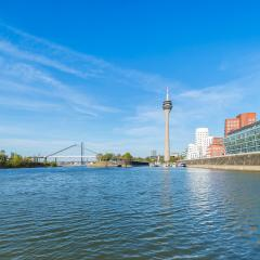 Dusseldorf in spring : Stock Photo or Stock Video Download rcfotostock photos, images and assets rcfotostock | RC-Photo-Stock.: