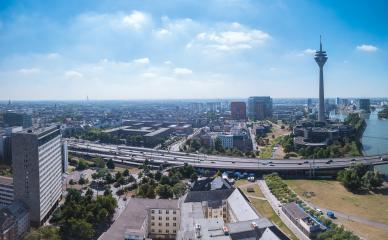 Dusseldorf old town city panorama- Stock Photo or Stock Video of rcfotostock | RC-Photo-Stock