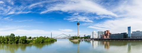 dusseldorf panorama- Stock Photo or Stock Video of rcfotostock | RC-Photo-Stock