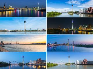 Dusseldorf Panorama collage : Stock Photo or Stock Video Download rcfotostock photos, images and assets rcfotostock | RC-Photo-Stock.: