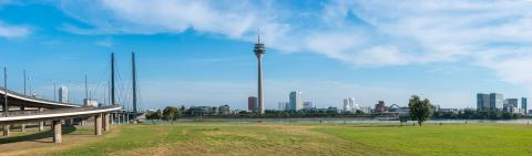 Dusseldorf panoramic view- Stock Photo or Stock Video of rcfotostock | RC-Photo-Stock