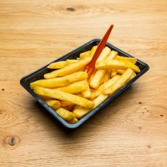 Dutch fries in a shell with fork- Stock Photo or Stock Video of rcfotostock | RC-Photo-Stock