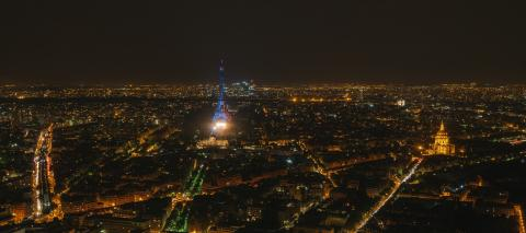 Eiffel tower at night with fireworks - Stock Photo or Stock Video of rcfotostock | RC-Photo-Stock