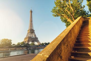 Eiffel tower at summer, Paris. France- Stock Photo or Stock Video of rcfotostock | RC-Photo-Stock