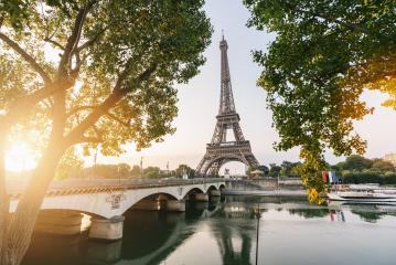 Eiffel tower at sunset, Paris. France : Stock Photo or Stock Video Download rcfotostock photos, images and assets rcfotostock | RC-Photo-Stock.: