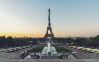 Eiffel tower in Paris at sunset. France.- Stock Photo or Stock Video of rcfotostock | RC-Photo-Stock