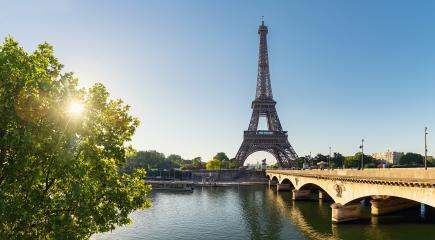 Eiffel tower Panorama, Paris. France- Stock Photo or Stock Video of rcfotostock | RC-Photo-Stock