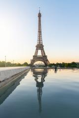 Eiffel Tower, Paris France at sunrise- Stock Photo or Stock Video of rcfotostock | RC-Photo-Stock