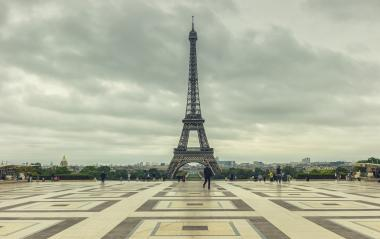 Eiffel Tower view from the Trocadero square (Place du Trocadero). Paris, France- Stock Photo or Stock Video of rcfotostock | RC-Photo-Stock