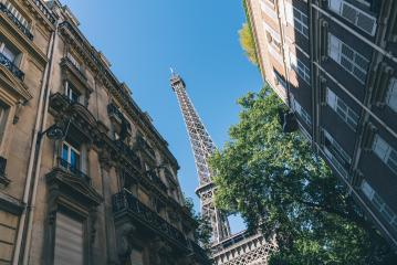 Eiffel Tower view in Paris, France- Stock Photo or Stock Video of rcfotostock | RC-Photo-Stock