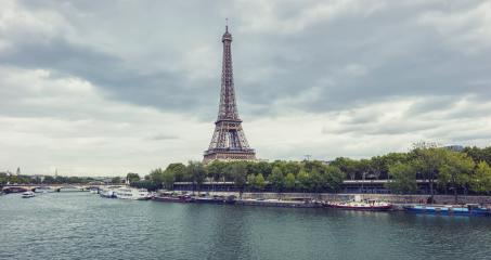 Eiffel tower with Seine river, Paris. France.- Stock Photo or Stock Video of rcfotostock | RC-Photo-Stock