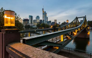 Eiserner Steg in Frankfurt am main- Stock Photo or Stock Video of rcfotostock | RC-Photo-Stock